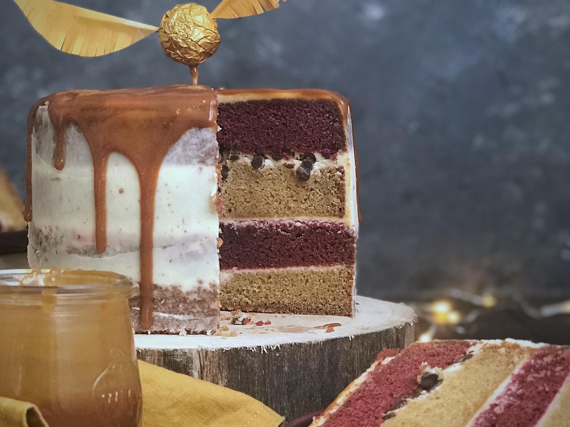 Harry Potter Layer Cake Blogevent Magical October Mint Oh La La